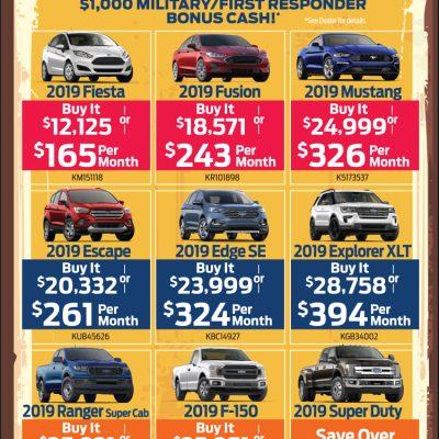 car advetisements