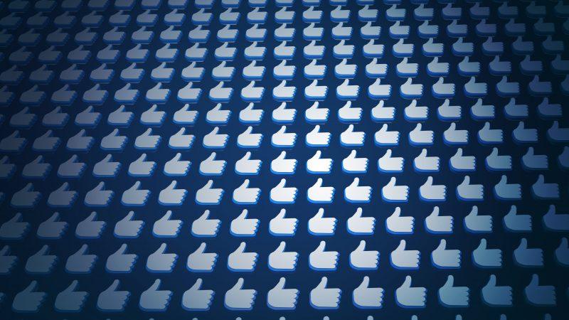 Massive Facebook likes social media popularity